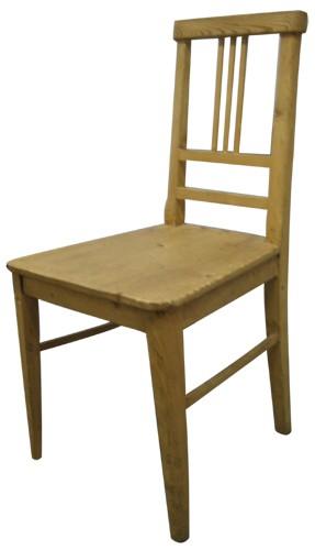 Vintage Swedish Pine Chair