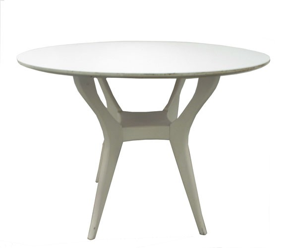Milo Baughman Italian Laminate Table (BK)