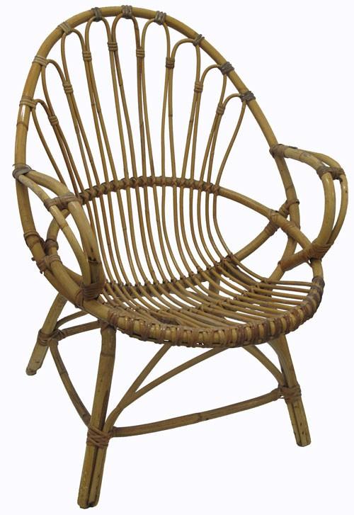 Terrific Vintage Bamboo Garden Chair Interior Design Ideas Apansoteloinfo