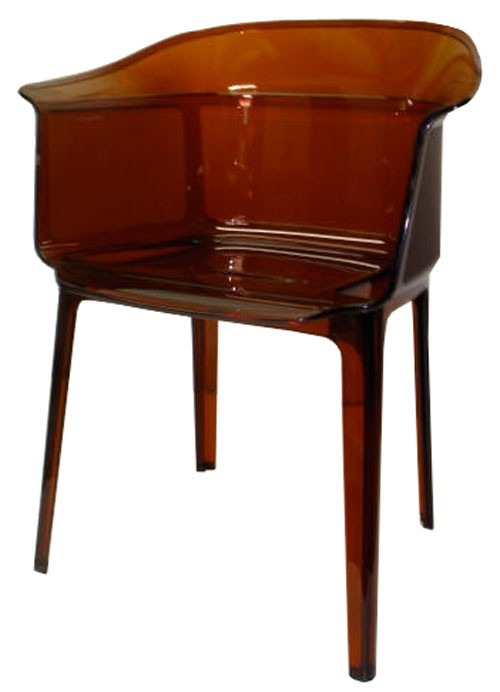 Orange Kartell Papyrus Chair Lost And