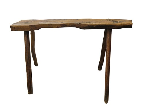 Peachy Rustic Slab Top Work Bench With Rough Hewn Legs Bk Dailytribune Chair Design For Home Dailytribuneorg