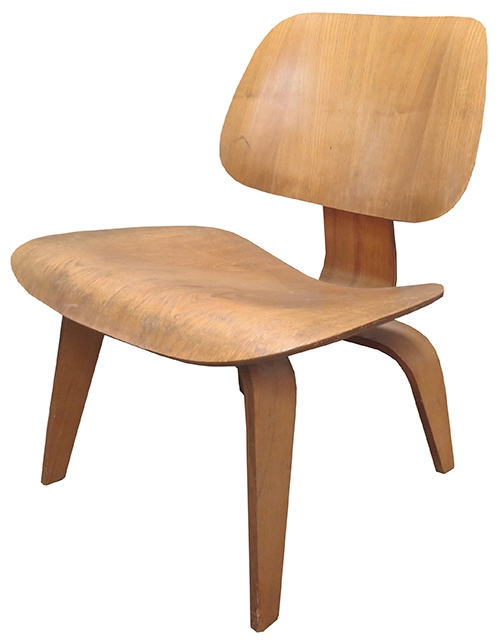 Eames Herman Miller Bent Plywood LCW Chair