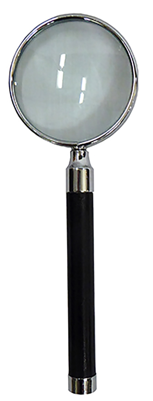Magnifying Glass with black Cylindrical Handle