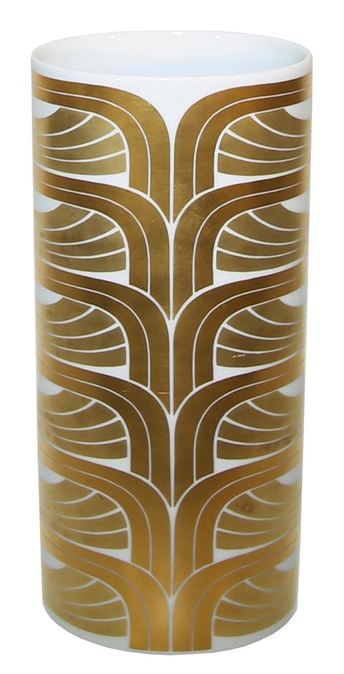 Gold Pattern Rosenthal Porcelain Vase