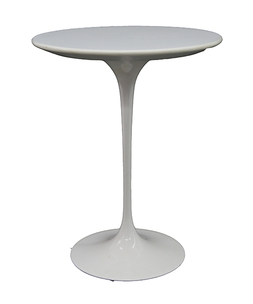 White Laminate Tulip Table By Ero Saarinen Lost And Found - Saarinen table white laminate